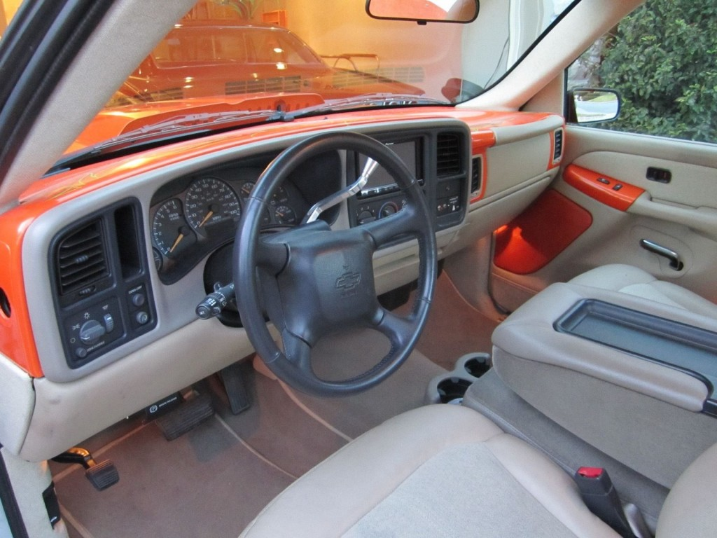2002 Chevrolet Silverado 1500 Single Cab Custom Pick up truck