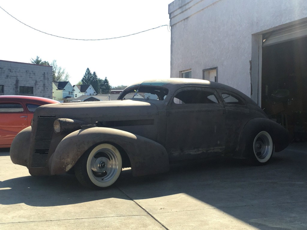 1937 Buick Custom Street Rod Project Chopped