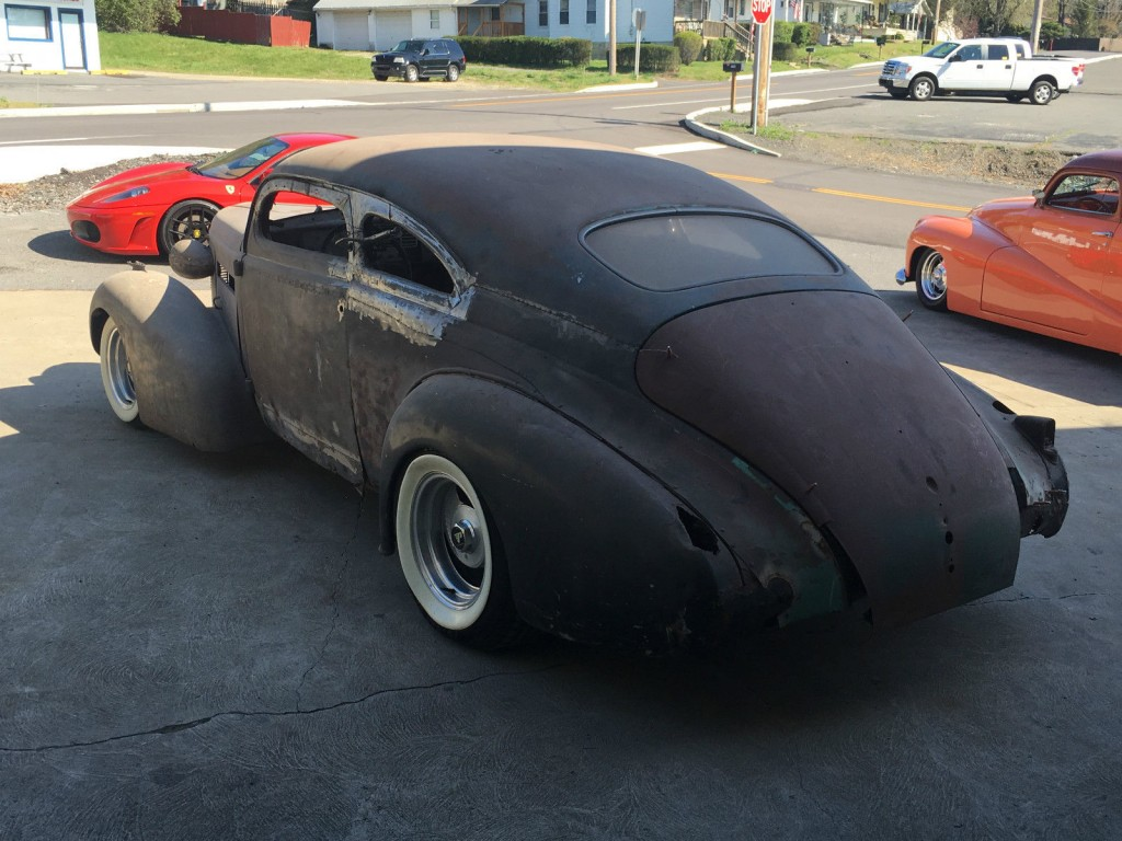 1937 Buick Custom Street Rod Project Chopped For Sale