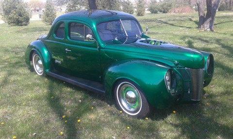 1940 Ford 5 Window coupe for sale