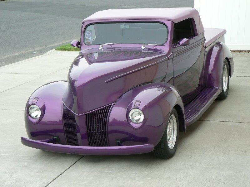 1940 Ford Phantom Custom Street Rod Pickup