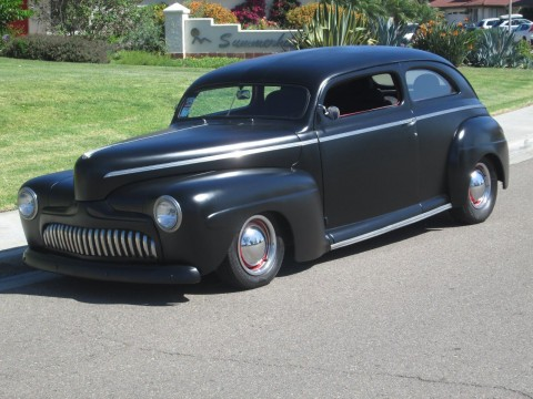 1942 Ford 2 Door Sedan Custom Street Rod for sale