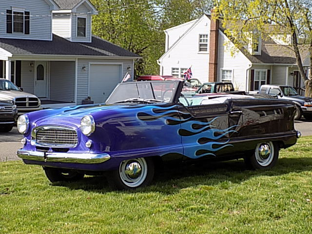 1957 Nash Metropolitan Custom Roadster Convertible