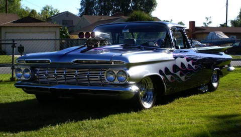 1959 Chevrolet El Camino Street Legal Race Car Custom for sale