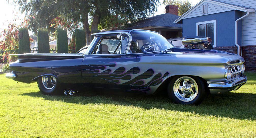 1959 Chevrolet El Camino Street Legal Race Car Custom