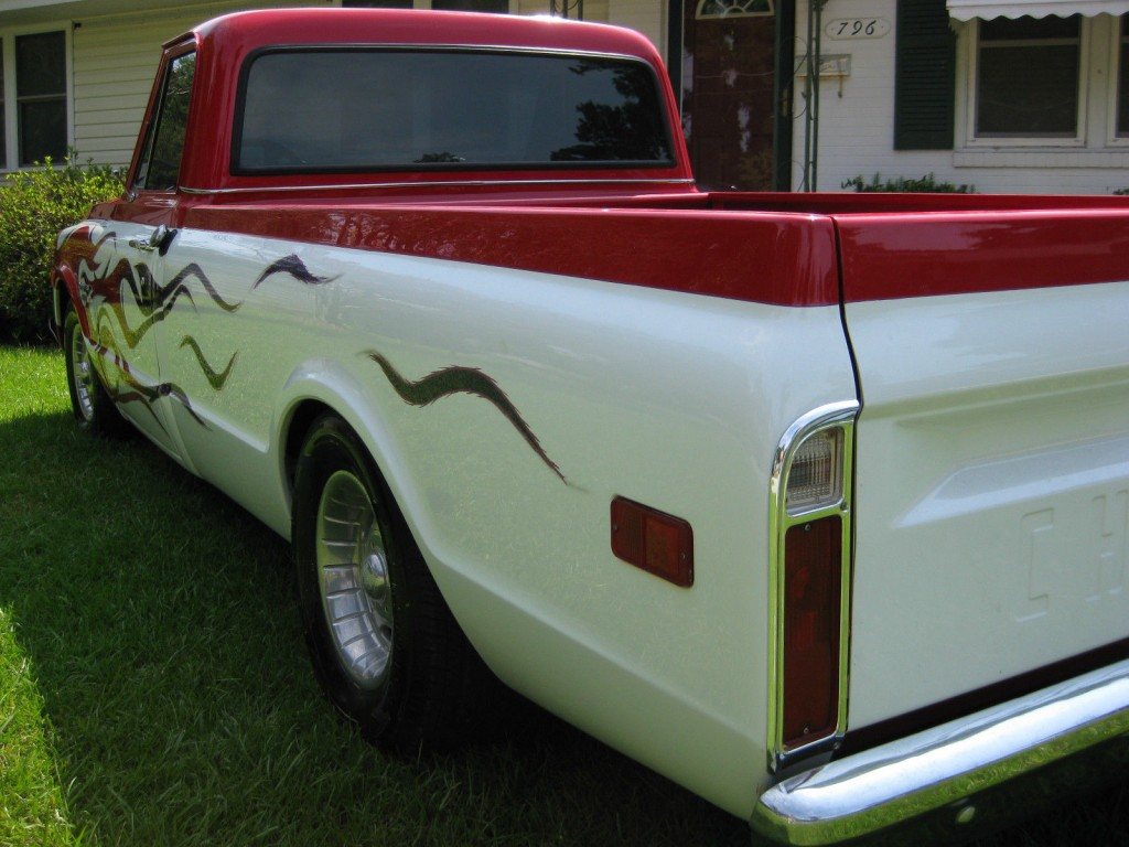 "1970 Chevy C10 Custom Long Bed ""Pro Street"" Show Truck"