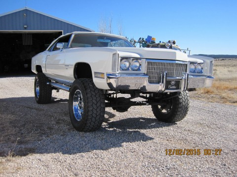 1971 Cadillac Eldorado Convertible 4×4 custom conversion for sale