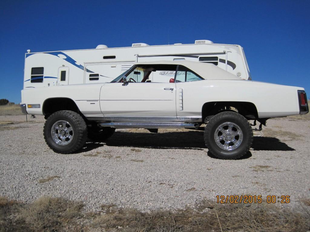 1971 Cadillac Eldorado Convertible 4×4 custom conversion