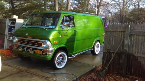 1973 Ford E Series Van 200 custom for sale