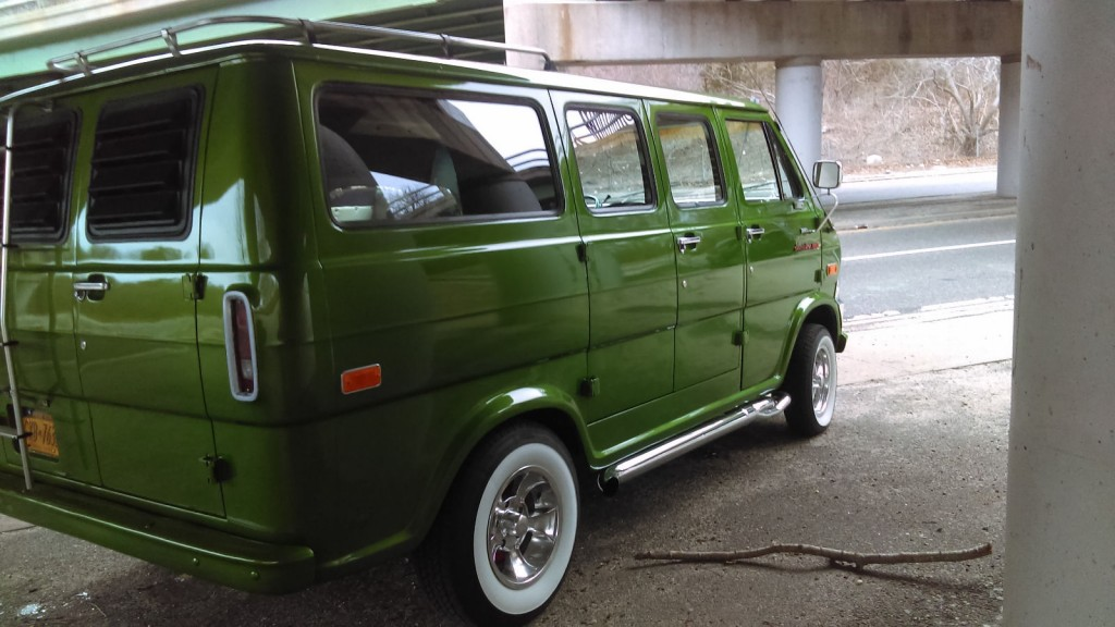1973 Ford E Series Van 200 custom