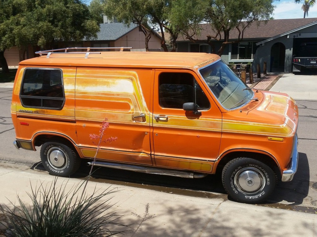 1976 Ford  E100 Econoline Short Original 70s Custom Show Van