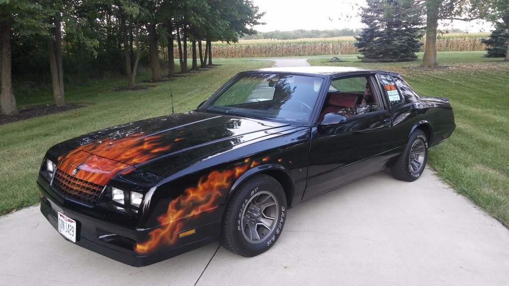 1987 chevrolet monte carlo ss aero coupe for sale. Black Bedroom Furniture Sets. Home Design Ideas