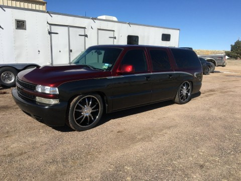 2002 Chevy Suburban Custom Project for sale
