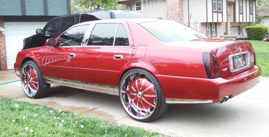 2004 Cadillac DeVille Candy Paint Custom