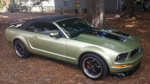 2005 Ford Mustang Custom Green and Black for sale
