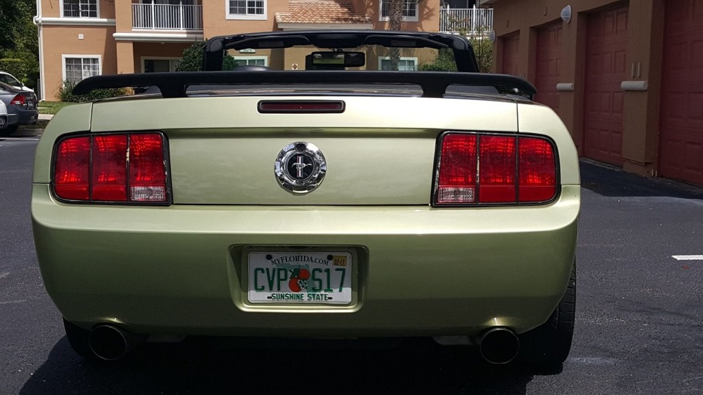 2005 Ford Mustang Custom Green and Black