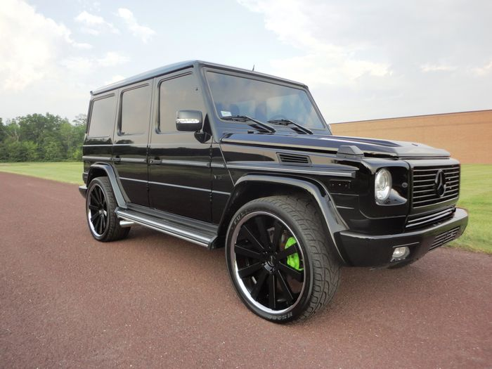 2007 mercedes benz g500 custom black out for sale for Custom mercedes benz for sale