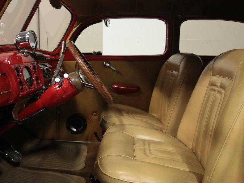 1940 Ford Deluxe custom sedan