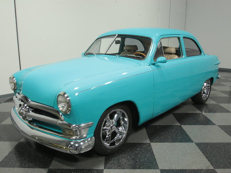 1950 Ford 2 Door Sedan custom