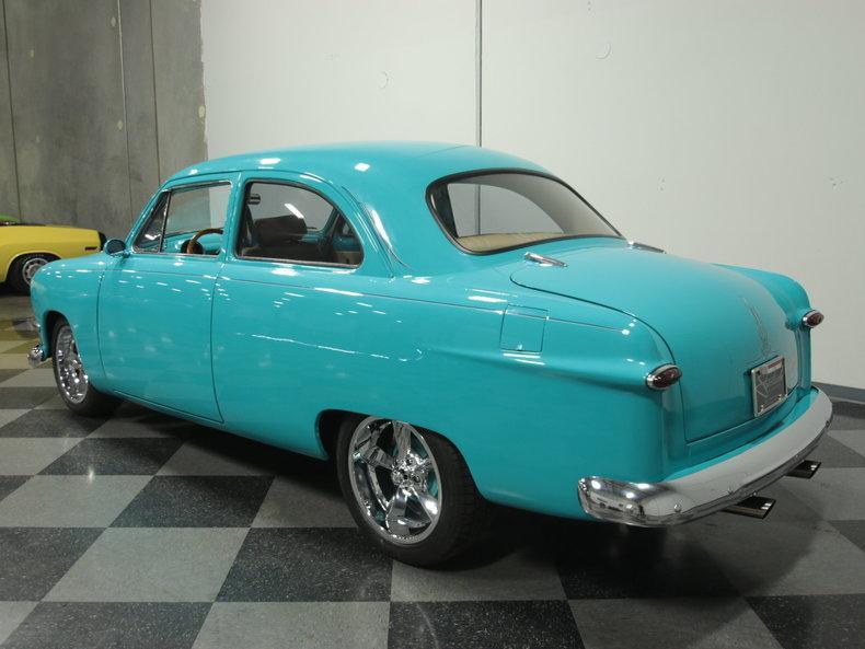 1950 Ford 2 Door Sedan custom