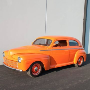 Air ride 1948 Ford Two Door Custom Sedan for sale