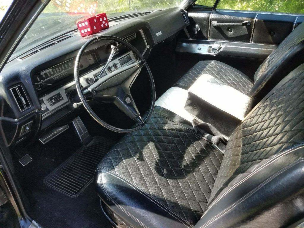 All black 1967 Cadillac Deville convertible custom