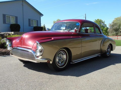 Badass looking 1950 Oldsmobile Business Coupe Custom for sale