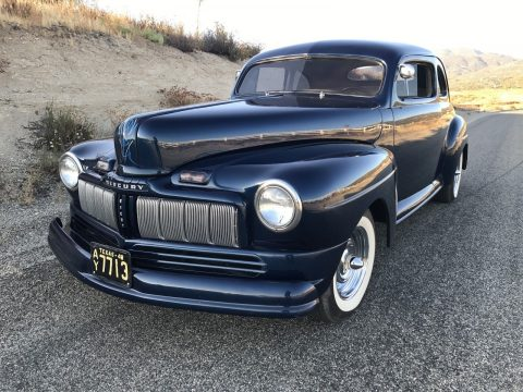Chopped 1948 Mercury Coupe Custom for sale