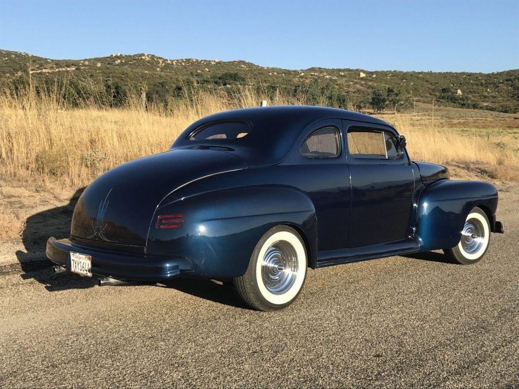 Chopped 1948 Mercury Coupe Custom