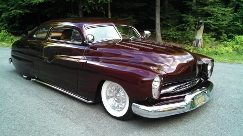 Flathead engine 1950 Mercury custom lead sled for sale