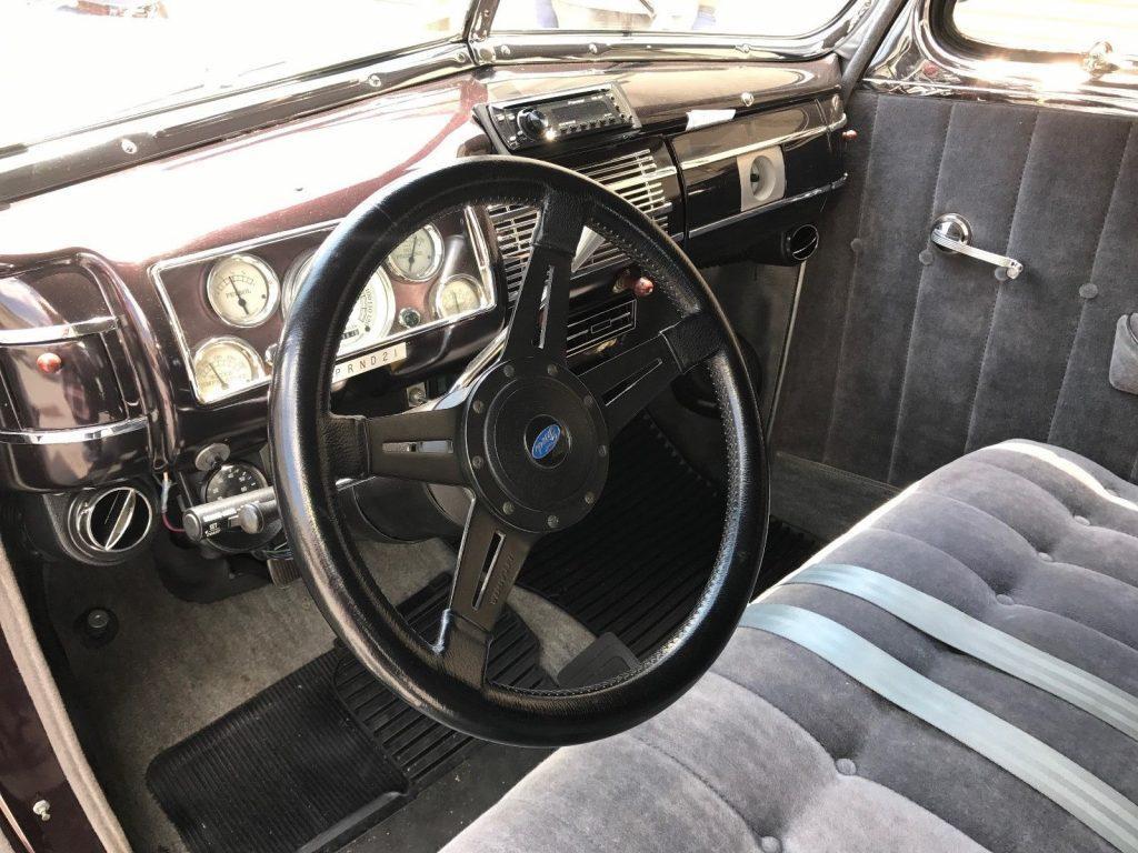 Frame off 1940 Ford Custom Street rod