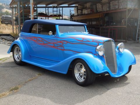 Frame up build 1934 Chevrolet Custom street rod for sale