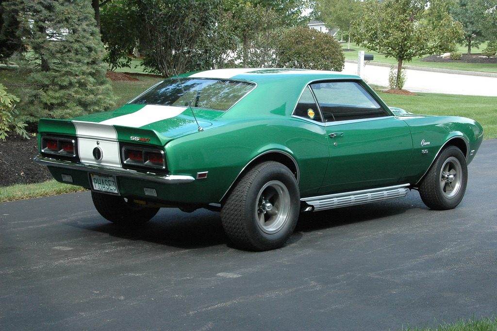 Motion Phase III Package 1968 Chevrolet Camaro RS SS custom