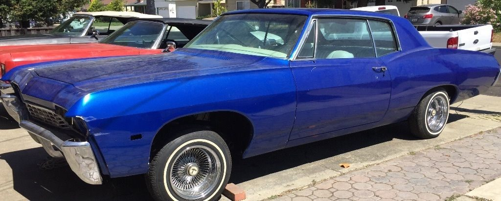 Newer paint 1968 Chevrolet Impala Custom coupe