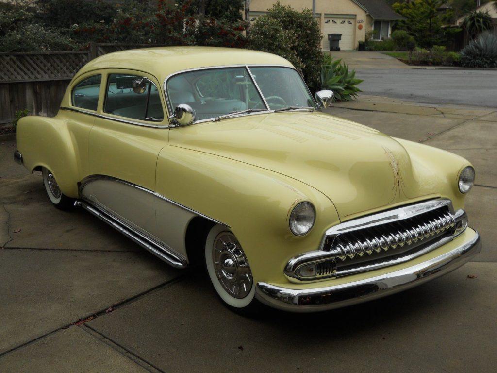 Pinstriped 1952 Chevrolet Fleetline Custom For Sale