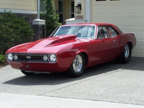 pro street 1967 Chevrolet Camaro custom for sale