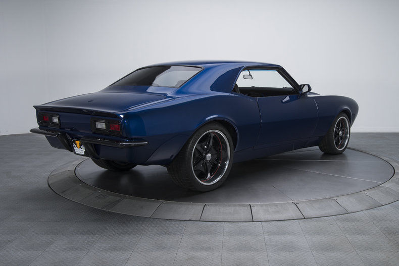 professional restoration 1968 Chevrolet Camaro custom