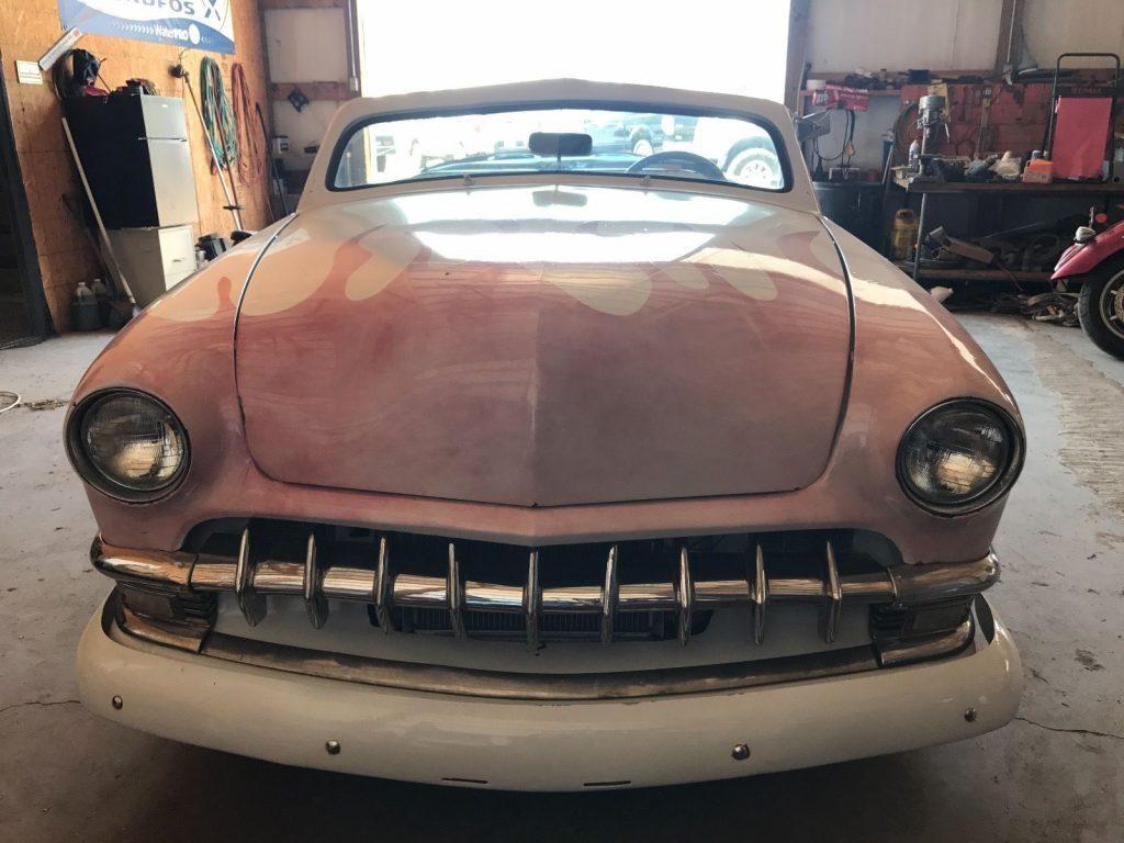 Rebuilt engine 1950 Ford custom