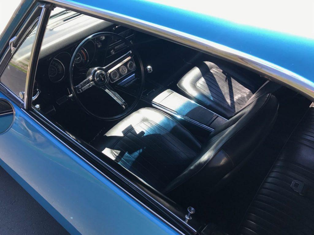 Rotisserie restored 1967 Chevrolet Camaro custom