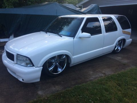 Show truck 1997 Chevrolet Blazer Bagged Lowered Custom for sale