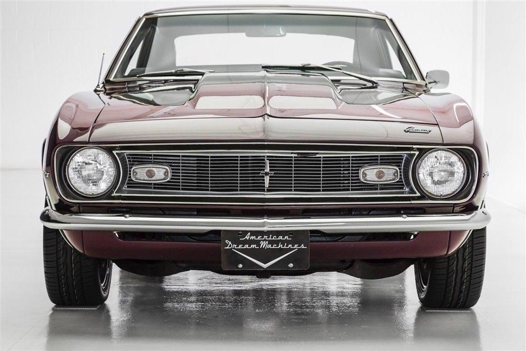 Stunning 1968 Chevrolet Camaro 327 custom