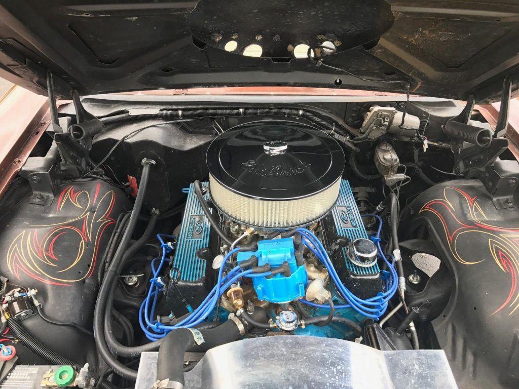 Super clean 1967 Ford Galaxie Custom 500 custom