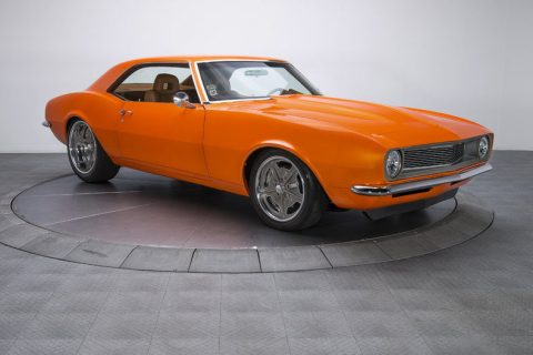 Tastefully modified 1968 Chevrolet Camaro custom for sale