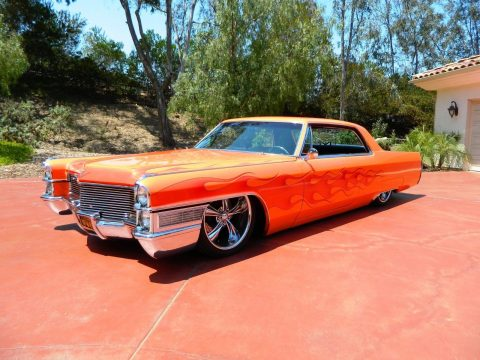 Totally awesome 1965 Cadillac Deville custom for sale