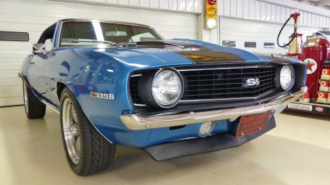 Beauty in blue 1969 Chevrolet Camaro custom for sale