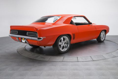 Factory options 1969 Chevrolet Camaro RS custom for sale
