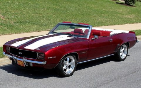 iconic classic 1969 Chevrolet Camaro RS/SS454 custom for sale