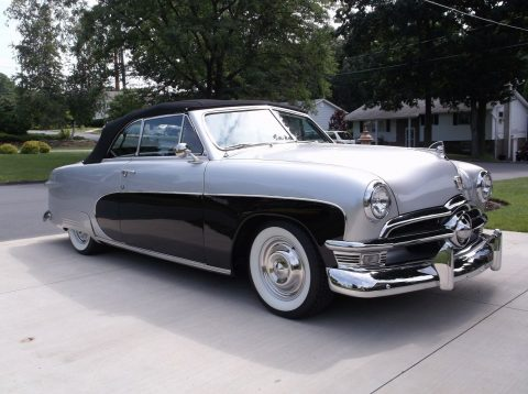 modified 1950 Ford Deluxe Crestliner convertible custom for sale