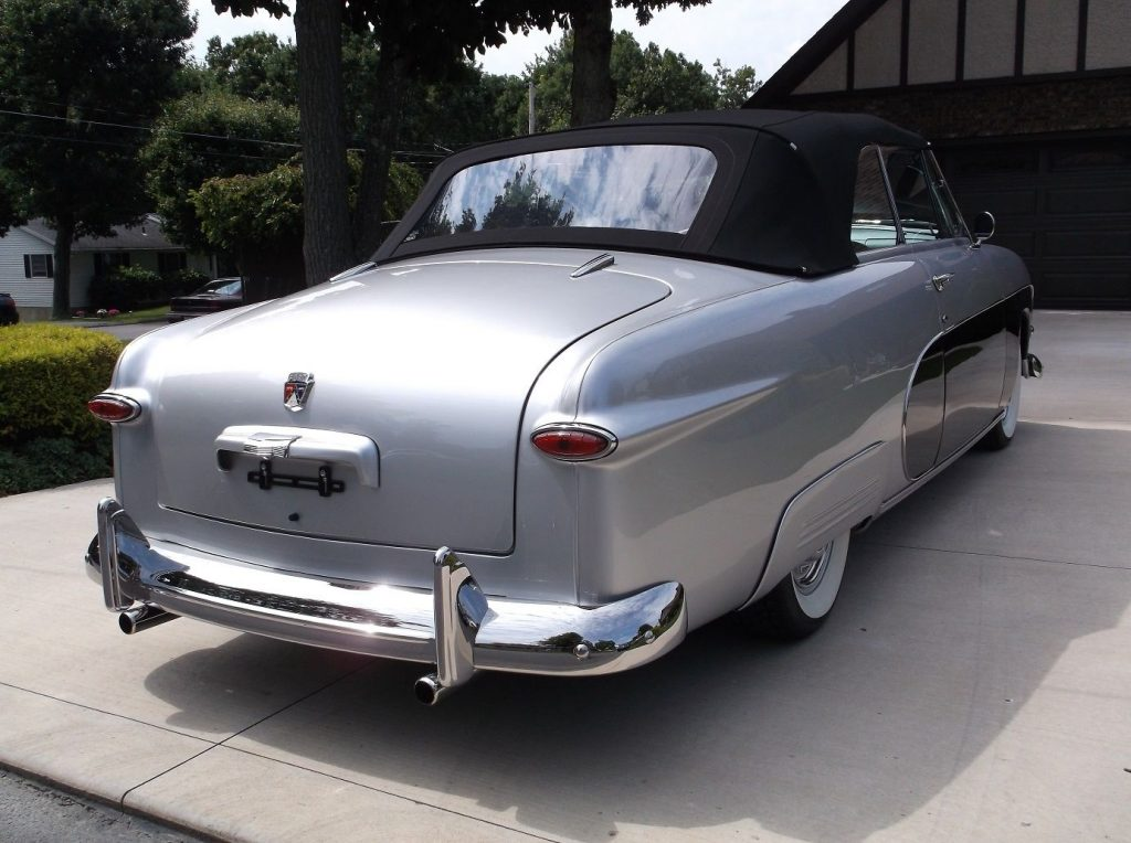 modified 1950 Ford Deluxe Crestliner convertible custom
