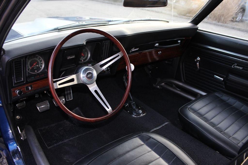 pro street 1969 Chevrolet Camaro z/28 custom